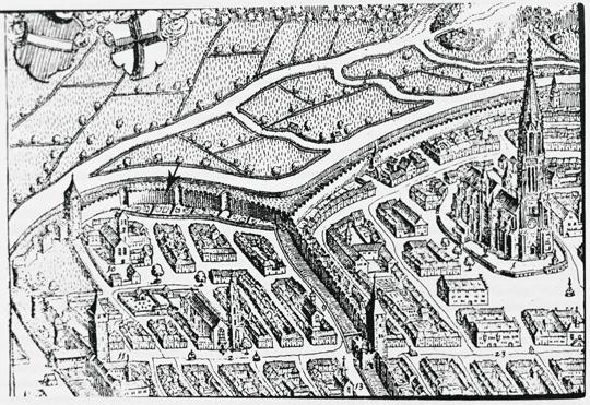 MERIAN TopographiaAlsatiae 1644 Garten1 (siehe Dokument) 540